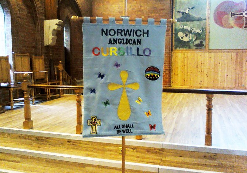 Banner of Norwich Anglican Cursillo