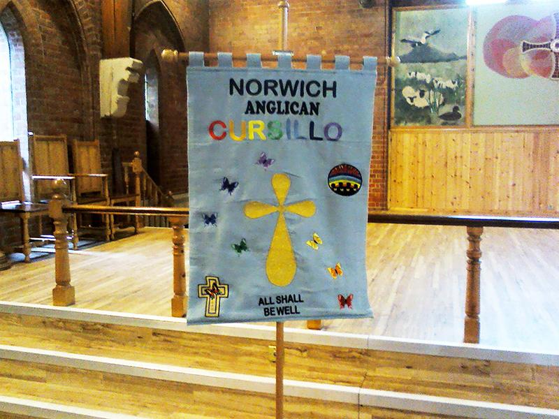 Banner of Norwich Anglican Cursillo