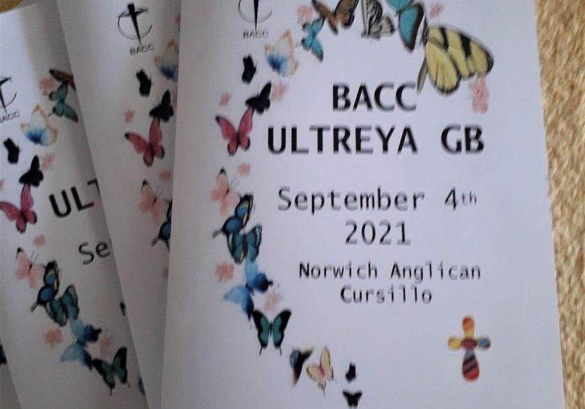 Ultreya GB 2021 booklet